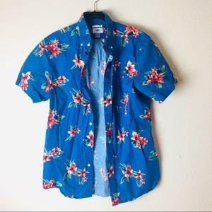 Bold Hawaiian Style Shirt